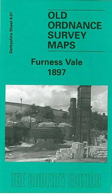 Furness Vale 1897: Derbyshire Sheet 8.07 - Old O.S. Maps of Derbyshire (Sheet map, folded)
