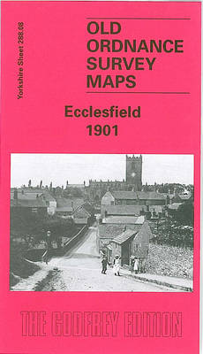 Ecclesfield 1901: Yorkshire Sheet 288.08 - Old O.S. Maps of Yorkshire (Sheet map, folded)