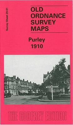 Purley 1910: Surrey Sheet 20.01 - Old Ordnance Survey Maps of Surrey (Sheet map, folded)
