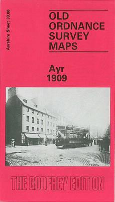 Ayr 1909: Ayrshire Sheet 33.06 - Old O.S. Maps of Ayrshire (Sheet map, folded)
