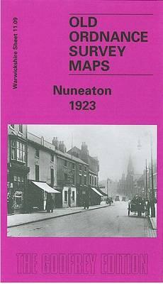 Nuneaton 1923: Warwickshire Sheet 11.09 - Old O.S. Maps of Warwickshire (Sheet map, folded)