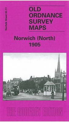 Norwich (North) 1905: Norfolk Sheet 63.11 - Old O.S. Maps of Norfolk (Sheet map, folded)