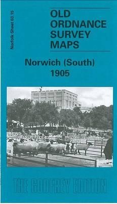Norwich (South) 1905: Norfolk Sheet 63.15 - Old O.S. Maps of Norfolk (Sheet map, folded)
