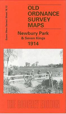 Newbury Park and Seven Kings 1914: Essex Sheet 78.12 - Old O.S. Maps of Essex (Sheet map, folded)