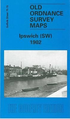 Ipswich (South West) 1902: Suffolk Sheet 75.15 - Old O.S. Maps of Suffolk (Sheet map, folded)