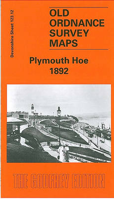 Plymouth Hoe 1892: Devon Sheet 123.12 - Old O.S. Maps of Devon (Sheet map, folded)