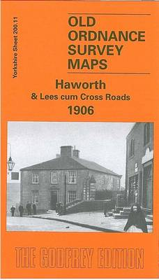 Haworth and Lees Cum Cross Roads 1906: Yorkshire Sheet 200.11 - Old O.S. Maps of Yorkshire (Sheet map, folded)
