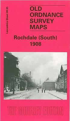 Rochdale (South) 1908: Lancashire Sheet 89.05 - Old O.S. Maps of Lancashire (Sheet map, folded)