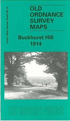 Buckhurst Hill 1914: Essex Sheet 69.10 - Old O.S. Maps of Essex (Sheet map, folded)