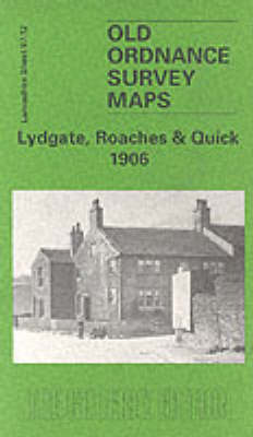 Lydgate, Roaches and Quick, 1906: Lancashire Sheet 97.12 - Old O.S. Maps of Lancashire (Sheet map, folded)