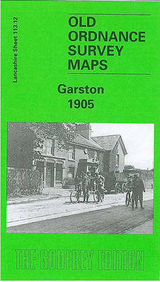 Garston 1904: Lancashire Sheet 113.12 - Old O.S. Maps of Lancashire (Sheet map, folded)