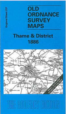 Thame and District 1886: One Inch Sheet 237 - Old O.S. Maps of England (Sheet map, folded)