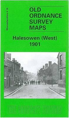 Halesowen (West) 1901: Worcestershire Sheet 4.16 - Old Ordnance Survey Maps of Worcestershire (Sheet map, folded)