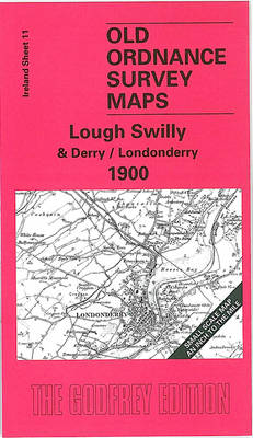 Lough Swilly and Derry 1900: Ireland Sheet 11 - Old O.S. Maps of Ireland (Sheet map, folded)