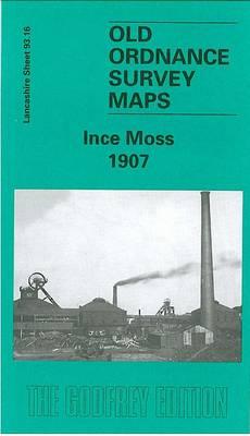 Ince Moss 1907: Lancashire Sheet 93.16 - Old O.S. Maps of Lancashire (Sheet map, folded)
