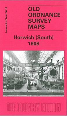 Horwich (South) 1908: Lancashire Sheet 86.10 - Old O.S. Maps of Lancashire (Sheet map, folded)