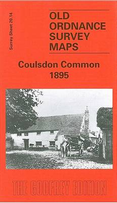 Coulsdon Common 1897: Surrey Sheet 20.14 - Old Ordnance Survey Maps of Surrey (Sheet map, folded)