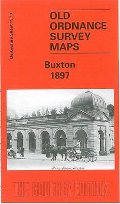 Buxton 1897: Derbyshire Sheet 15.13 - Old O.S. Maps of Derbyshire (Sheet map, folded)