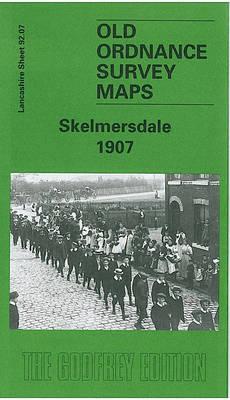 Skelmersdale 1907: Lancashire Sheet 92.07 - Old O.S. Maps of Lancashire (Sheet map, folded)
