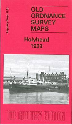 Holyhead 1923: Anglesey Sheet 11.02 - Old O.S. Maps of Anglesey (Sheet map, folded)