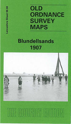 Blundellsands 1907: Lancashire Sheet 99.08 - Old O.S. Maps of Lancashire (Sheet map, folded)
