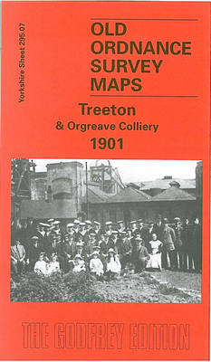 Treeton and Orgreave Colliery 1901: Yorkshire Sheet 295.07 - Old O.S. Maps of Yorkshire (Sheet map, folded)