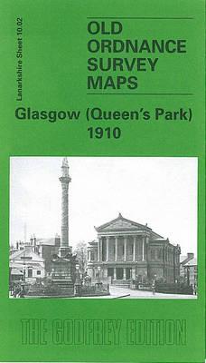 Glasgow (Queen's Park) 1910: Lanarkshire Sheet 10.02 - Old O.S. Maps of Lanarkshire (Sheet map, folded)