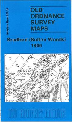 Bradford (Bolton Woods) 1906: Yorkshire Sheet 201.16 - Old O.S. Maps of Yorkshire (Sheet map, folded)