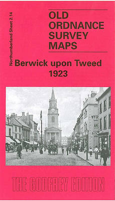 Berwick Upon Tweed 1923: Northumberland Sheet 2.14 - Old O.S. Maps of Northumberland (Sheet map, folded)