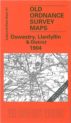 Oswestry, Llanfyllin and District - Old O.S. Maps of England and Wales (Sheet map, folded)