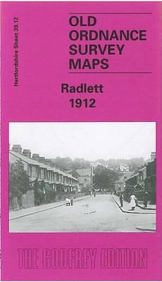 Radlett 1912: Hertfordshire Sheet 39.12 - Old O.S. Maps of Hertfordshire (Sheet map, folded)