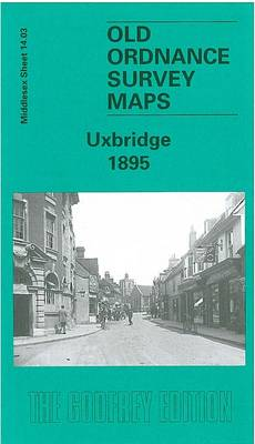 Uxbridge 1895: Middlesex Sheet  14.03 - Old O.S. Maps of Middlesex (Sheet map, folded)