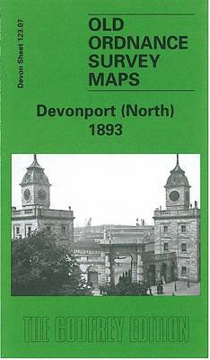 Devonport (North) 1893: Devon Sheet 123.07 - Old O.S. Maps of Devon (Sheet map, folded)