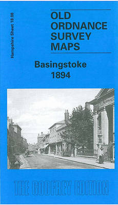 Basingstoke 1894: Hampshire Sheet 18.08 - Old O.S. Maps of Hampshire (Sheet map, folded)
