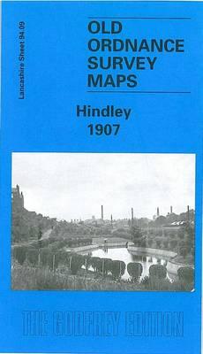 Hindley 1907: Lancashire Sheet 94.09 - Old O.S. Maps of Lancashire (Sheet map, folded)