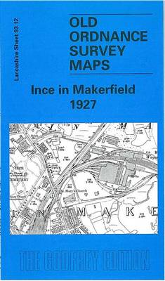 Ince in Makerfield 1927: Lancashire Sheet 93.12 - Old O.S. Maps of Lancashire (Sheet map, folded)