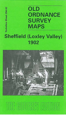 Sheffield (Loxley Valley) 1902: Yorkshire Sheet 294.02 - Old O.S. Maps of Yorkshire (Sheet map, folded)