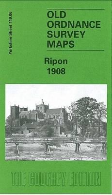 Ripon 1908: Yorkshire Sheet 119.06 - Old O.S. Maps of Yorkshire (Sheet map, folded)