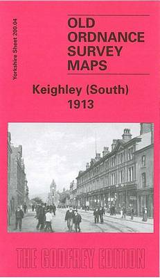 Keighley (South) 1913: Yorkshire Sheet 200.04 - Old O.S. Maps of Yorkshire (Sheet map, folded)