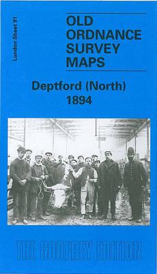 Deptford (North) 1894: London Sheet 091.2 - Old O.S. Maps of London (Sheet map, folded)