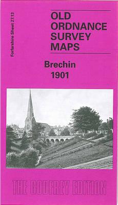 Brechin 1901: Forfarshire Sheet 28.13 - Old O.S. Maps of Forfarshire (Sheet map, folded)