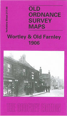 Wortley and Old Farnley 1906: Yorkshire Sheet 217.08 - Old O.S. Maps of Yorkshire (Sheet map, folded)