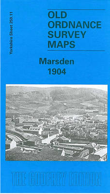 Marsden 1904: Yorkshire Sheet 259.11 - Old O.S. Maps of Yorkshire (Sheet map, folded)