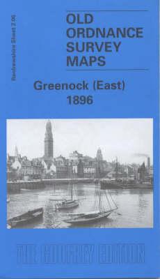 Greenock (East) 1896: Renfrewshire Sheet 2.06 - Old Ordnance Survey Maps of Renfrewshire (Sheet map, folded)