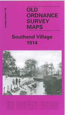 Southend Village 1914: London Sheet 170 - Old O.S. Maps of London (Sheet map, folded)