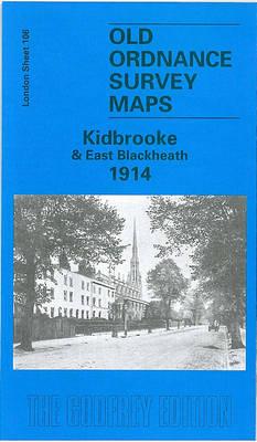 Kidbrooke and East Blackheath 1914: London Sheet   106.3 - Old O.S. Maps of London (Sheet map, folded)