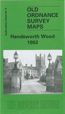 Handsworth Wood 1902: Staffordshire Sheet 68.12 - Old O.S. Maps of Staffordshire (Sheet map)
