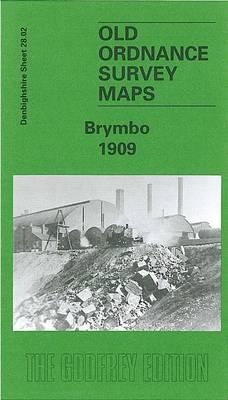Brymbo 1909: Denbighshire Sheet 28.02 - Old O.S. Maps of Denbighshire (Sheet map, folded)