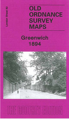 Greenwich 1894: London Sheet 092.2 - Old O.S. Maps of London (Sheet map, folded)