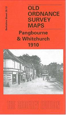 Pangbourne and Whitchurch 1910: Berkshire Sheet 28.12 - Old O.S. Maps of Berkshire (Sheet map, folded)